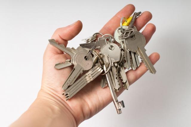 共用部の鍵貸出のさいの借用書サンプル
